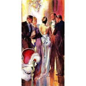 Vintage Fashion Milk and Honey by John LaGatta Painting Print on Wrapped Canvas by Marmont Hill