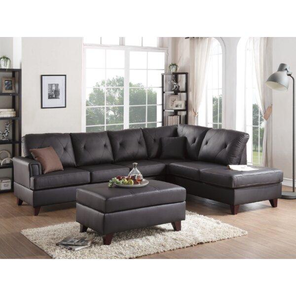 Bevilacqua 3 Piece Living Room Set by Brayden Studio