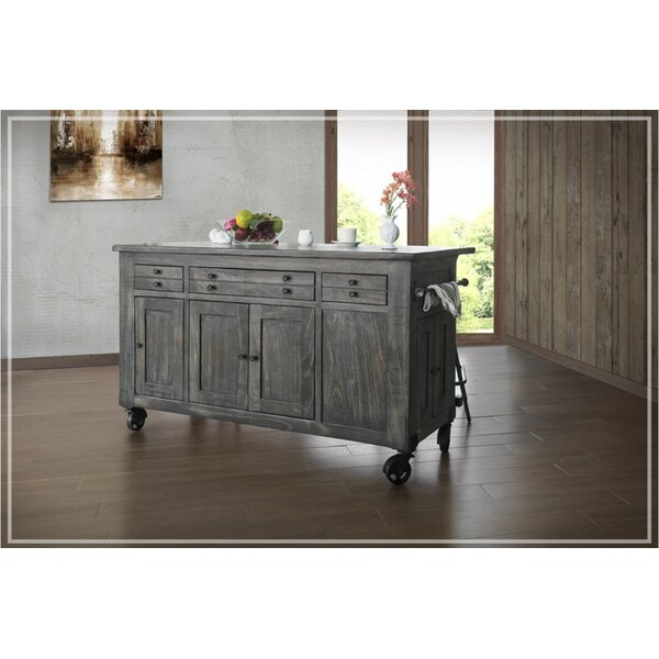 Lirette Kitchen Island by Gracie Oaks