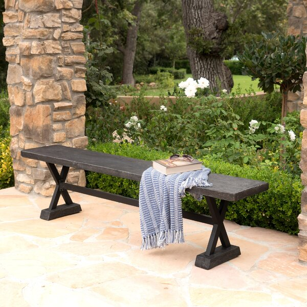 Cervantes Dining bench by Gracie Oaks