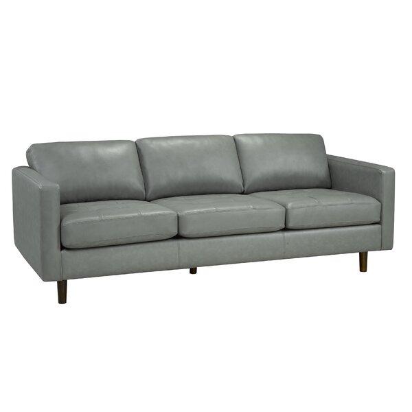 Lassen Genuine Leather Sofa by Brayden Studio