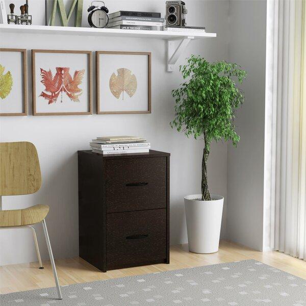 Mulligan 2 Drawer Vertical Filing Cabinet