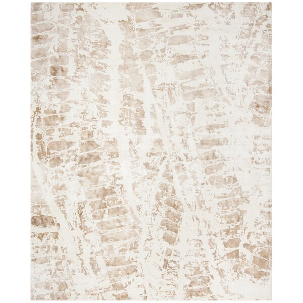 Issouf Rustic Hand Tufted Ivory Area Rug by 17 Stories
