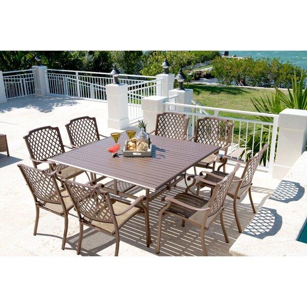 Island Breeze 9 Piece Dining Set by Panama Jack Outdoor