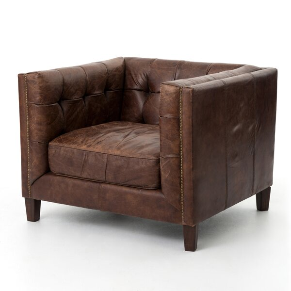 Dunia Club Chair by 17 Stories