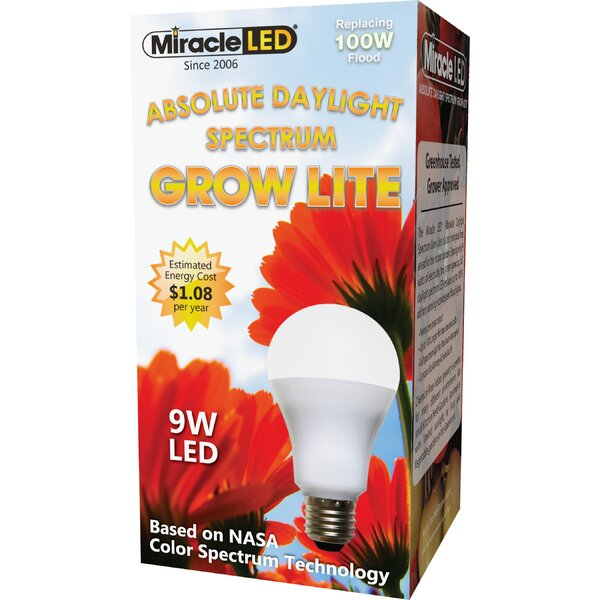 Daylight Full Spectrum Hydroponic Grow Light (Set of 2) by Miracle LED