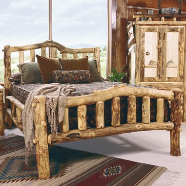 Aspen Heirloom Snowload II Platform Bed by Mountain Woods Furniture