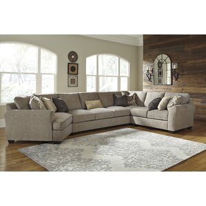 Pantomine Sectional  sc 1 st  Wayfair : beige sectional with chaise - Sectionals, Sofas & Couches