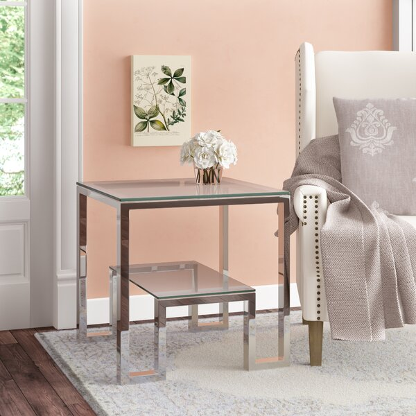 Laurence End Table by Willa Arlo Interiors Willa Arlo Interiors