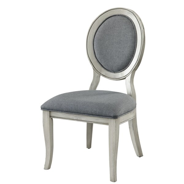 Suzan Upholstered Dining Chair (Set of 2) by Canora Grey