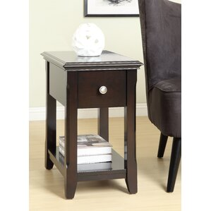 Bentonville End Table by Charlton Home