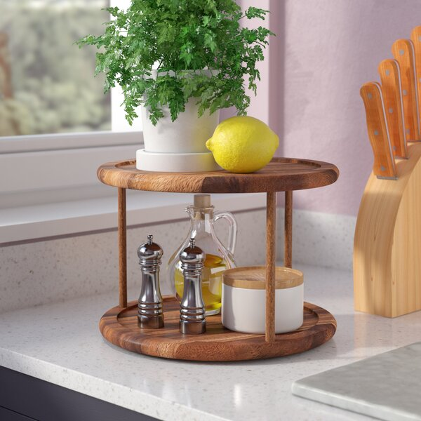 Berkshire Two-Tier Lazy Susan by Zipcode Design