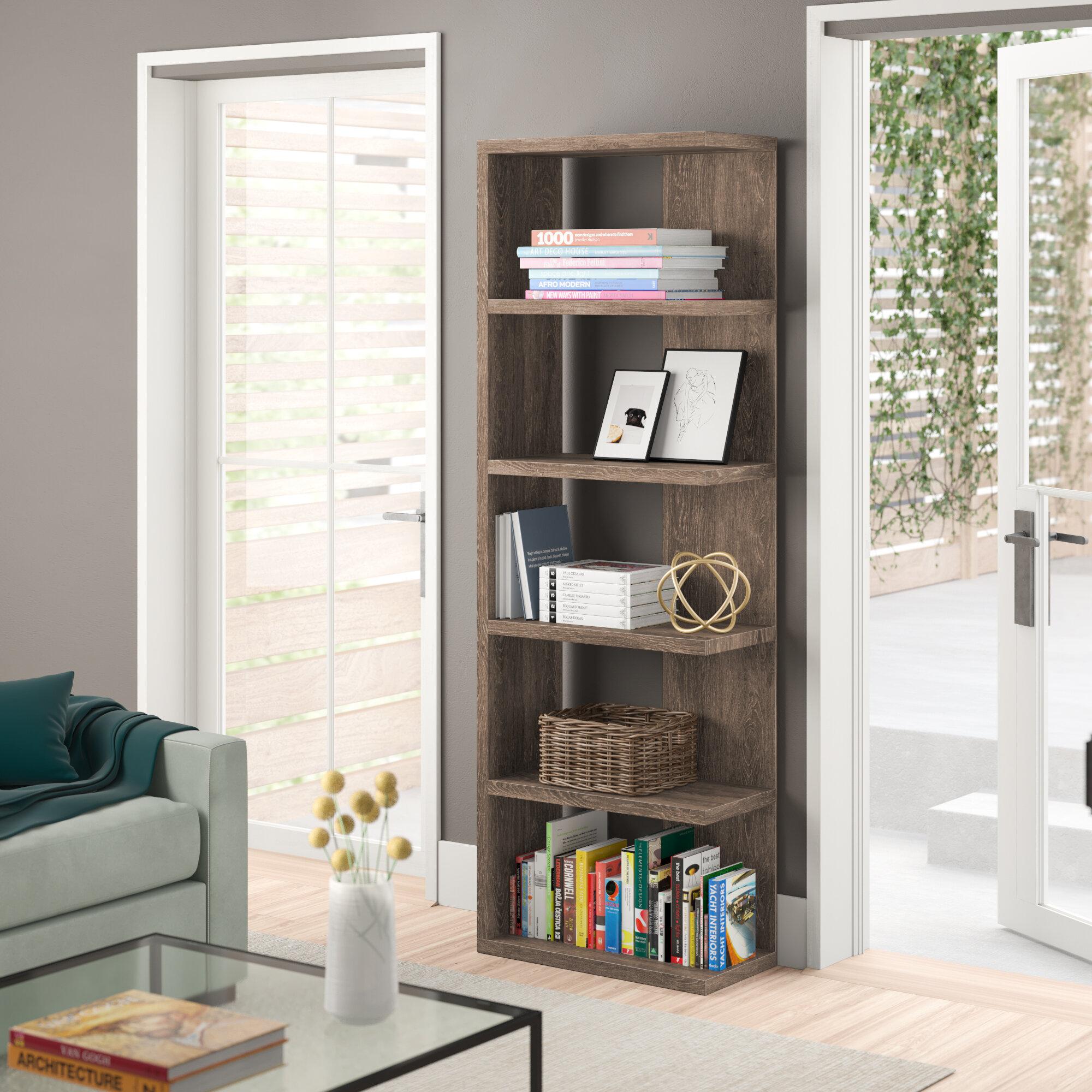 Zipcode Design Zack Standard Bookcase Reviews Wayfair