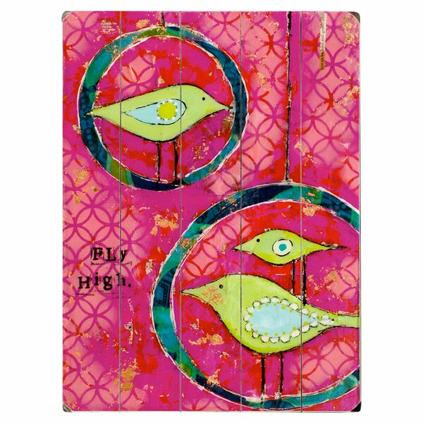 Birds Fly High by Cindy Wunsch Graphic Art Print Multi-Piece Image on Wood by Artehouse LLC
