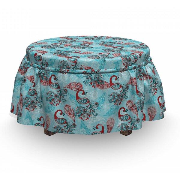 Check Price Box Cushion Ottoman Slipcover