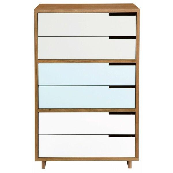 Modu-Licious 6 Drawer Dresser by Blu Dot