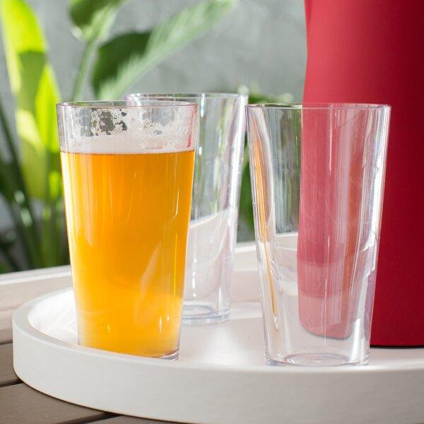 16 oz. Plastic Pint Glass (Set of 4) by symGLASS