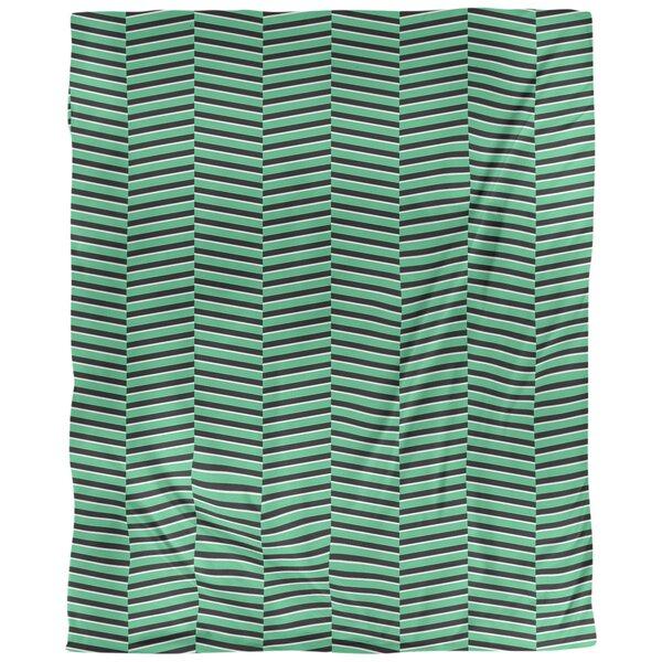 Jaya Fractured Stripes Single Duvet Cover