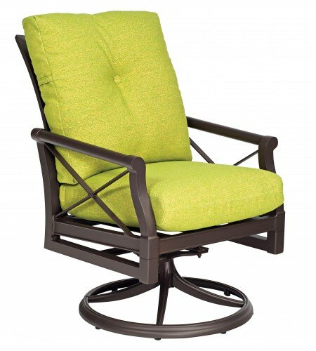 Andover Patio Chair with Cushion by Woodard