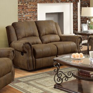 Hilliker Reclining Loveseat by Darby Home Co