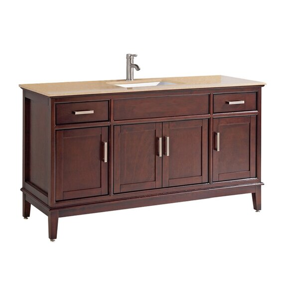 Middleton Modern 60 Single Bathroom Vanity Set by Andover Mills