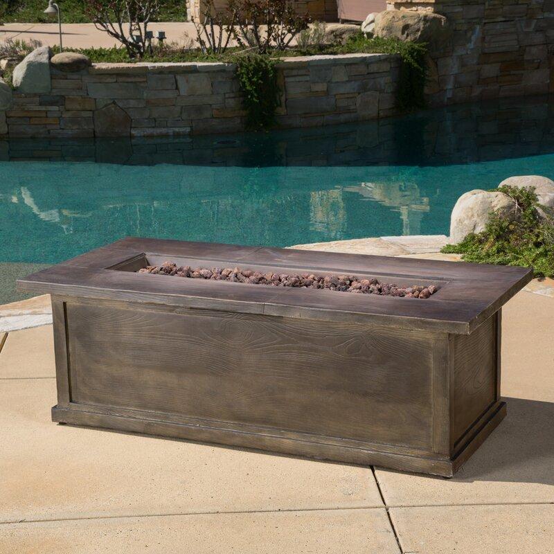 home loft concepts capistrano wood propane fire pit table & reviews