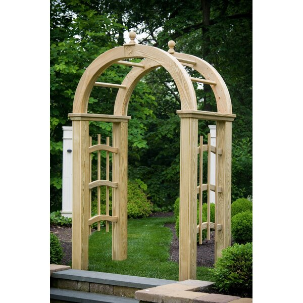Mt Vernon Wood Arbor by YardCraft