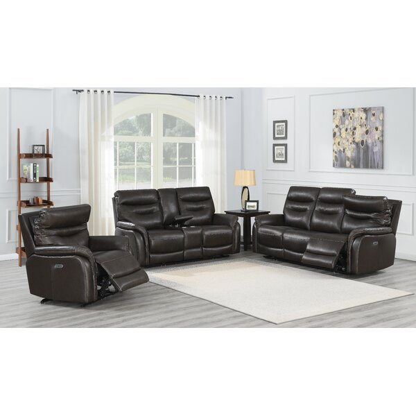 Fortuna Power Reclining Configurable Living Room Set By Red Barrel Studio