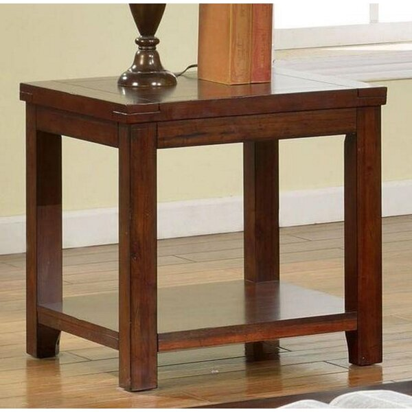 Alger End Table By Winston Porter