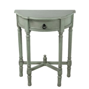 Jenifry Half Round End Table by Ophelia & Co.