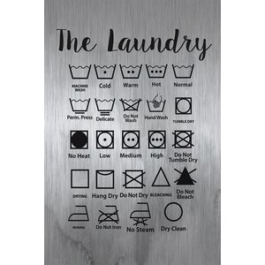 'The Laundry' by Diana Alcala Painting Print on Brushed Aluminum by Marmont Hill