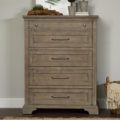 Chest Drawer Brown pic