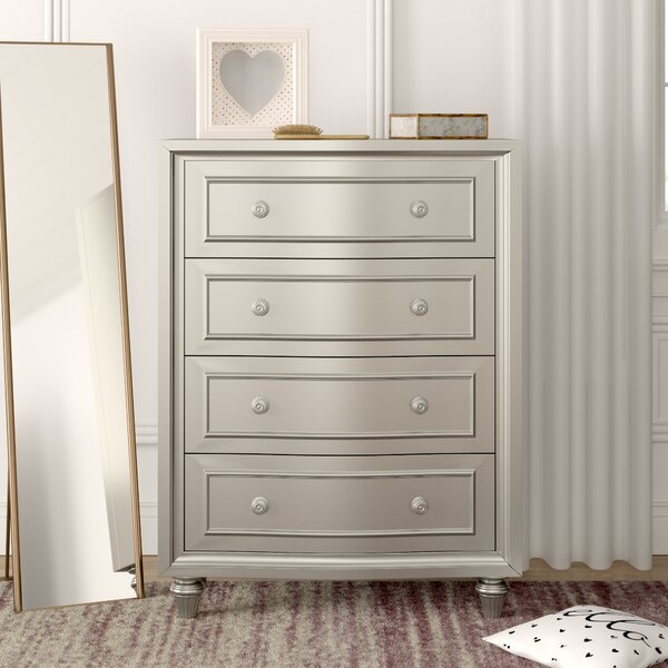 Skeffingt 4 Drawer Chest by Grovelane Teen