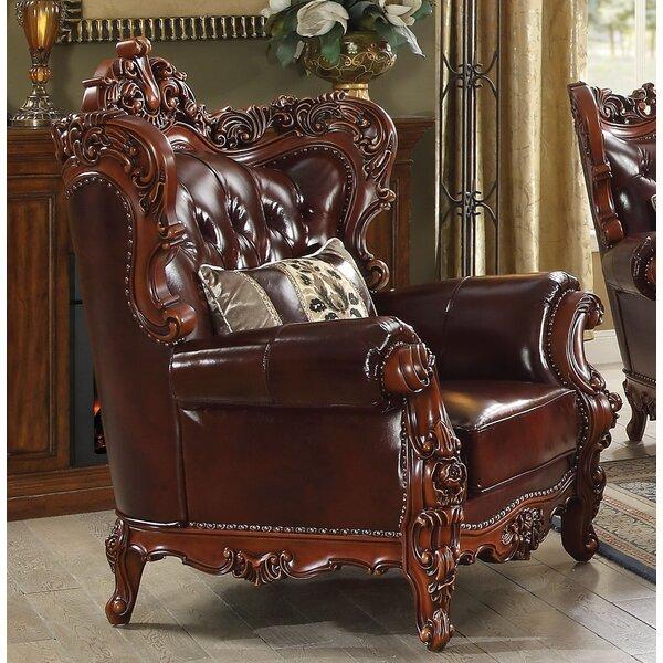 Ezekiel Wingback Chair by Astoria Grand