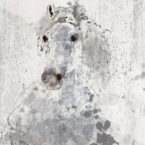 'Silver Sunshine' by Irena Orlov Painting Print on Wrapped Canvas by Marmont Hill