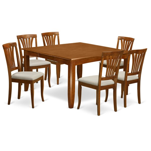 Parfait 7 Piece Extendable Dining Set by Wooden Importers