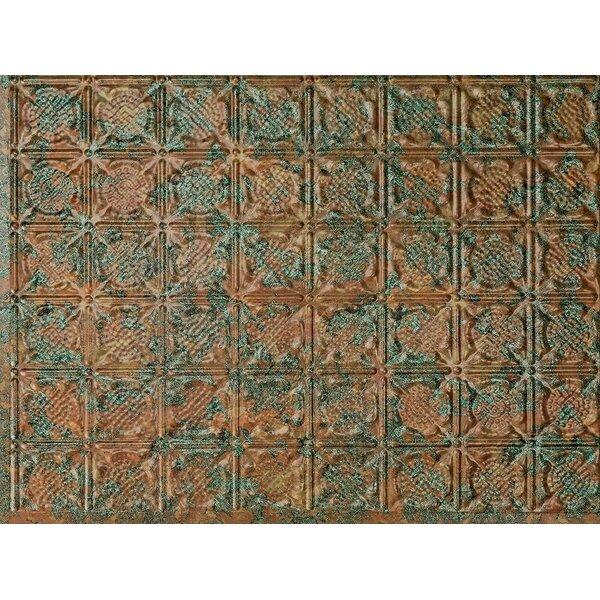 San Diego Backsplash Wall Paneling 18 x 24 Field Tile in Copper Fantasy by MirroFlex