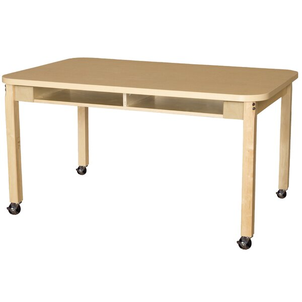 Manufactured Wood 24 Multi-Student Desk by Wood Designs