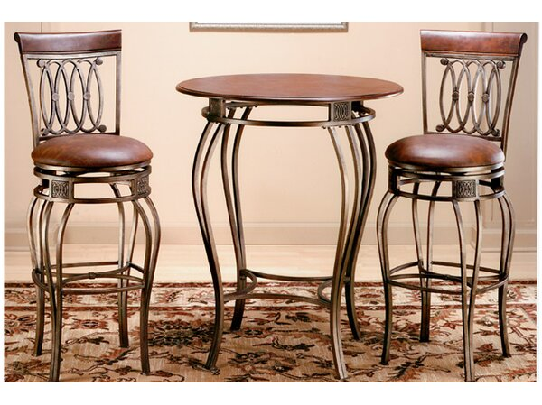 Copenhagen 3 Piece Pub Table Set by Astoria Grand
