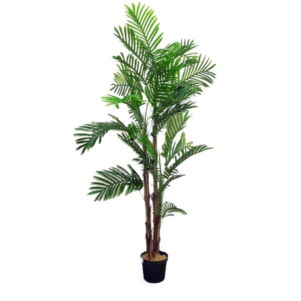 Artificial Areca Palm Tree in Pot (Set of 2) by Admired by Nature