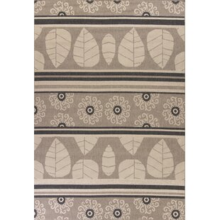 Condon Taupe Indoor/Outdoor Area Rug By Loon Peak