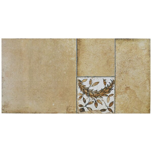 Chanson 11 x 22.13 Porcelain Field Tile in Beige by EliteTile