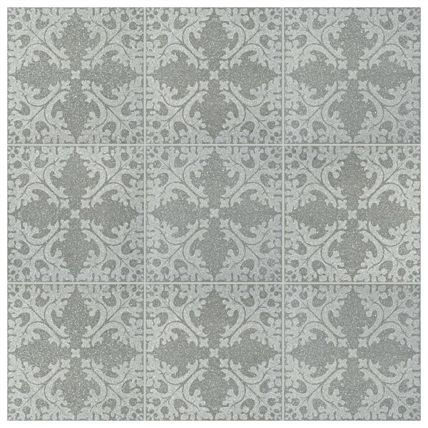 Parma Molise 11.5 x 11.5 Porcelain Field Tile in Grafito by EliteTile