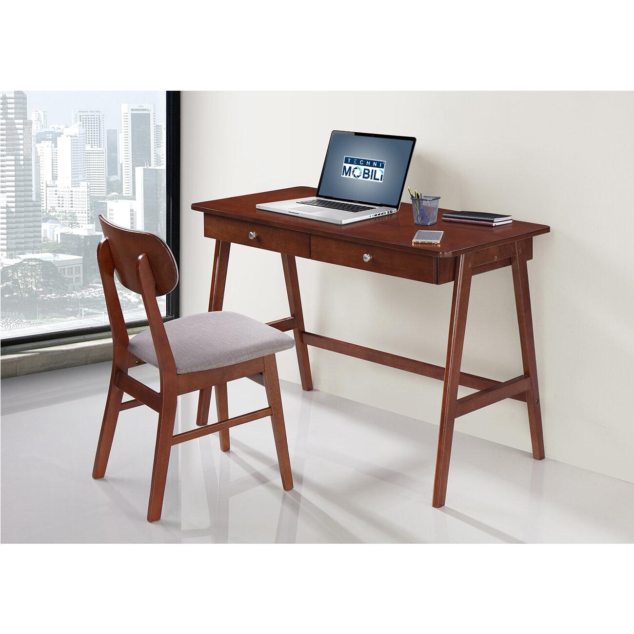 Techni Mobili Techni Mobili Writing Desk And Chair Set | Wayfair