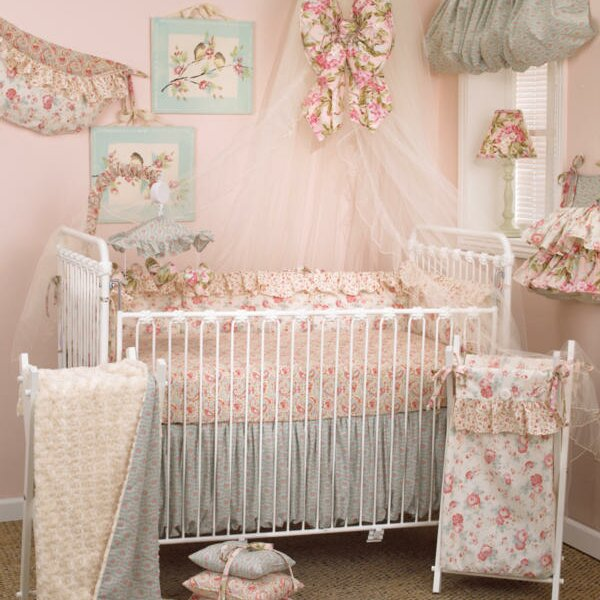 Oxford 10 Piece Crib Bedding Set by Harriet Bee