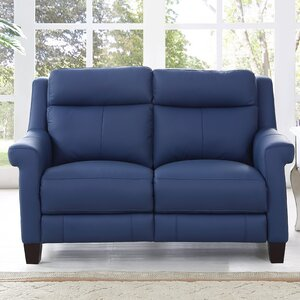 Dolce Leather Reclining Loveseat by HYDELINE BY AMAX