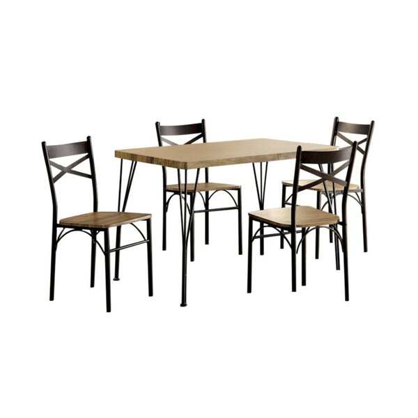 Owasco 5 Piece Dining Set by Gracie Oaks Gracie Oaks