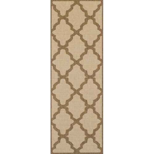 Motour Flatweave Beige Rug ClassicLiving Rug Size: Runner 60
