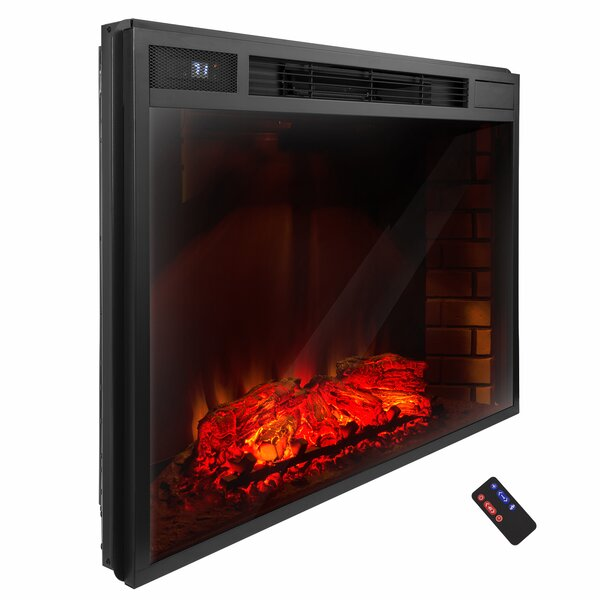 3D Logs Flame Electric Fireplace Insert by AKDY