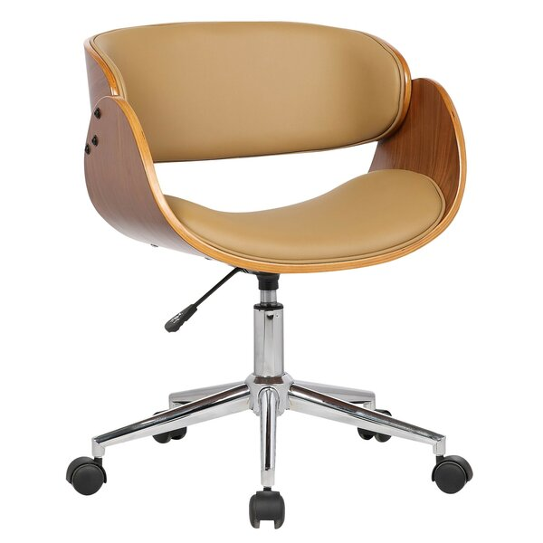 Lydia Mid-Back Desk Chair by Porthos Home